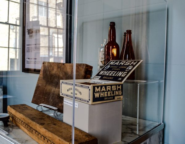 Many displays inside Independence Hall feature the history of the Friendly City.
