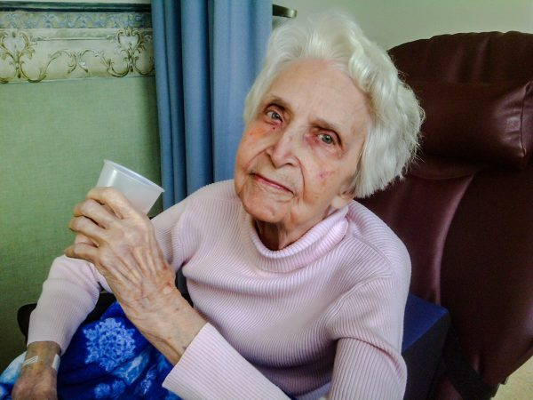 Bonnie has resided at the Good Shepherd Nursing Home for more than six years and will turn 92 years old in October.