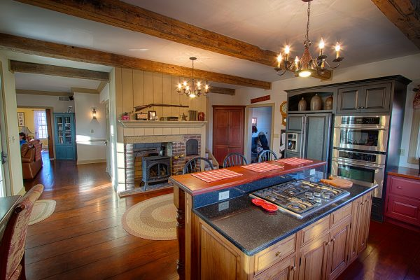 This is the Stern's Lost Valley Stock Farm's kitchen. (Photo by Design & Image Studios - Neal Warren)