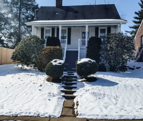 """Homer refers to this property at 106 Harding Avenue as her, """"job house,"""" because she and her husband are soon to gut it and have the interior completely renovated."""