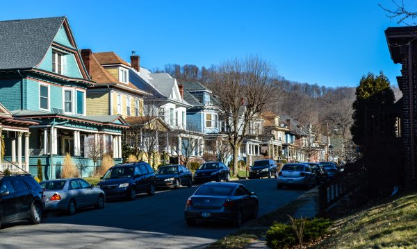 The stretch of houses rests along Maple Avenue in the Woodsdale section of Wheeling. One of the needs in the Friendly City at this time is housing that makes sense to today's younger professionals.