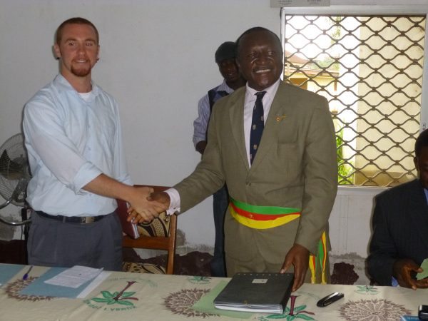 Since his first trip to Cameroon, Forzano has worked to improve the   living conditions for the country's citizens.