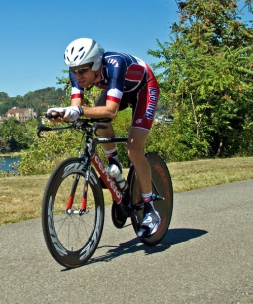 Hill logs as many as 5,000 miles on his cycles during the warmer months in Wheeling. (Photo by JMS Photography)