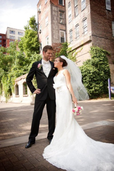 Chad and Angie were married in August 2012.