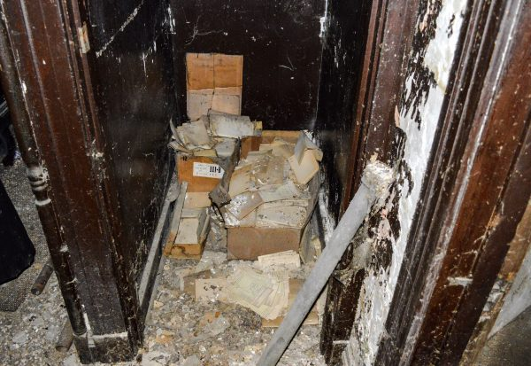 Old records have been found inside abandoned buildings throughout the Friendly City.