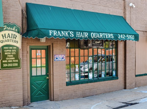 Frank's Hair Quarter's is located at 91 Edington Lane between the Rose Bowl and the Owl's Nest.
