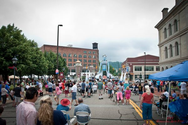 Pittsburgh's Squonk Opera was the headlining performer during last year's Arts Fest.