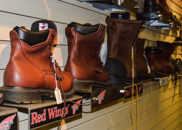 Orthopedic and diabetic shoes can be found at Campeti's as well as Red Wing products.