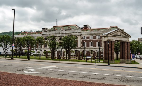 The former B&O Building along 16th Street in downtown Wheeling is the home of West Virginia Northern Community College.