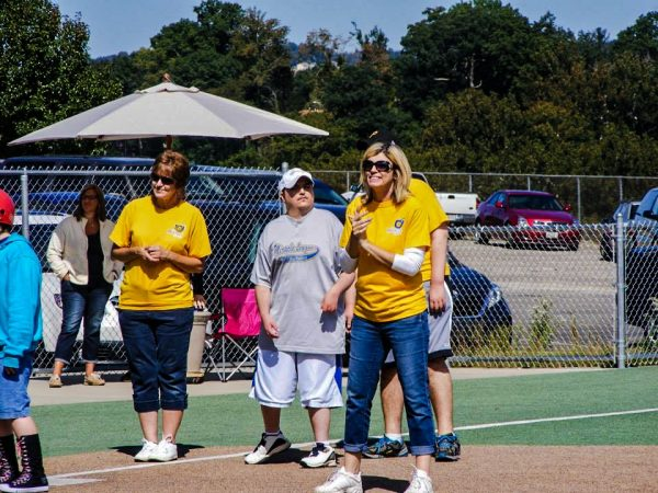 McCardle is active in every aspect of the Miracle League of the Ohio Valley.