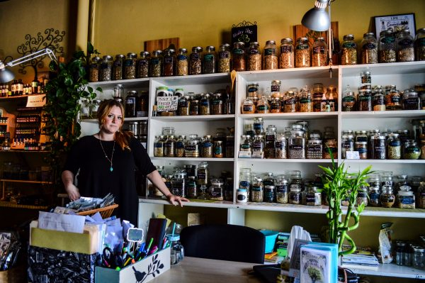Eller offers a plethora of different organic herbs at Under the Elder Tree.