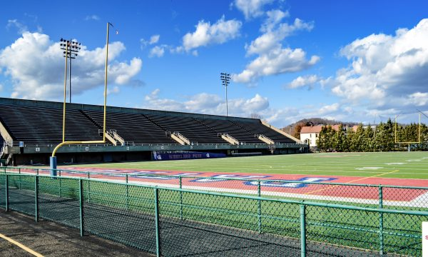 Wheeling Island Stadium has been the site for much more than high school football since Ohio County Schools installed the artificial surface 10 years ago. The school system replaced the surface earlier this month.