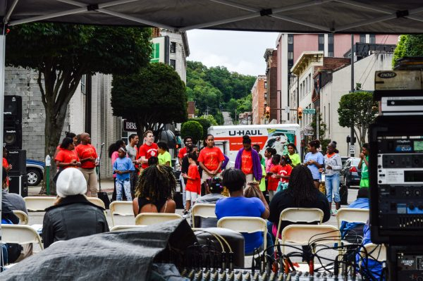 Youth groups often participate during Wheeling's robust festival season in downtown Wheeling.