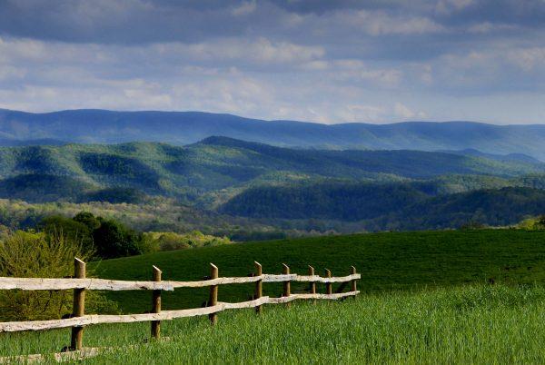 Walnut Springs Mountain Reserve, near Union in Monroe County, West Virginia.
