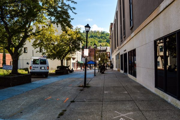 This throughway connects Main and Market streets in downtown Wheeling.