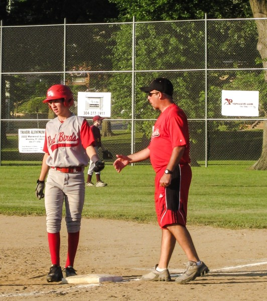 Baseball was a passion of Randy's, and he played several seasons for the Warwood Red Birds.