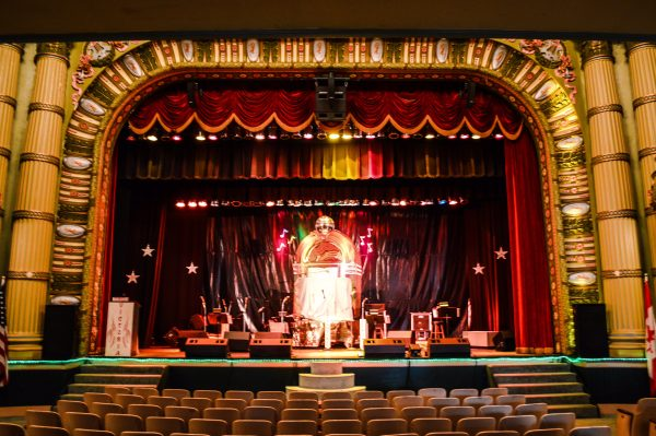Brown has worked diligently over the past two decades to preserve the historic theater.