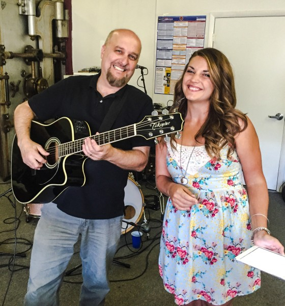 """Gregg Molnar and Shannan Noe both perform with The M-80s, and they also started a duo group called, """"Sugar Rush."""""""