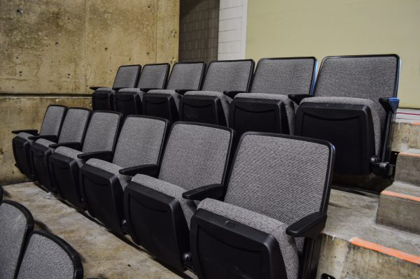The installation of the new seating is expected to be complete by the end of August.