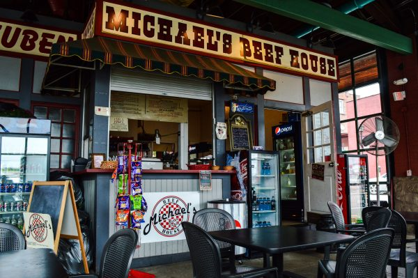 Michael's Beef House opened 16 years ago in the southern market house.