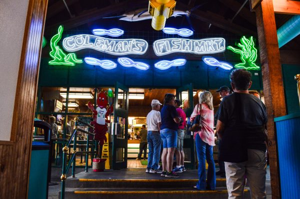 The anchor for more than a century has been Coleman's Fish Market.