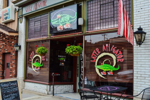 Susan Haddad took a leap of faith, Zende said, when opening Later Alligator at 2145 Market Street.