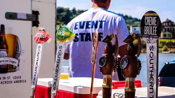 A number of different brands of beer will be available for sampling, and the live entertainment is scheduled to begin at 4:30 p.m.