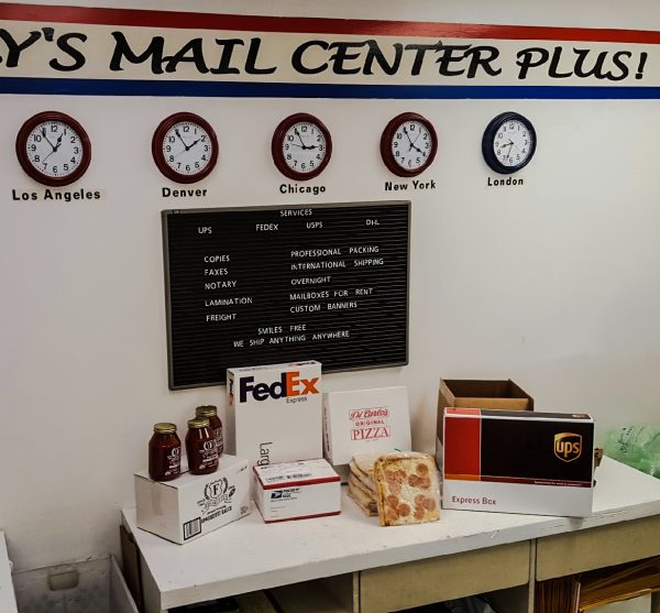 Spry's Mail Center Plus offers a plethora of services, including shipping, office services, and banner and sign creation.