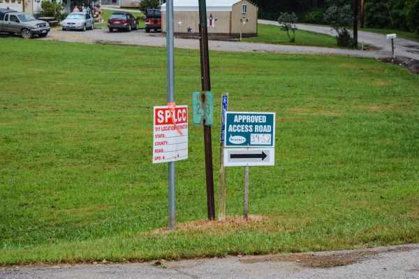 Many of the county roadways are designated via road usage/maintenance agreements with the Belmont County Commission, and if fracking traffic is permitted signage is posted.