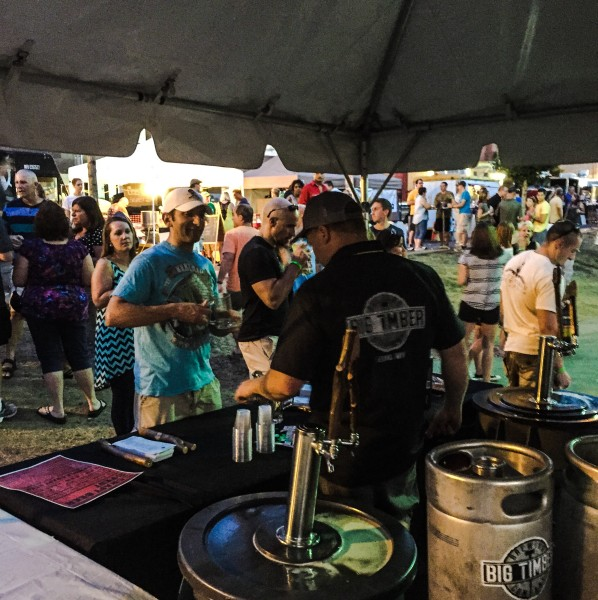 Kwasniewski enjoys receiving feedback at the state's craft brew events.
