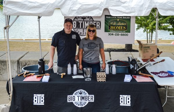 Kwasniewski and Roberts enjoy participating in the many craft brew festivals around the state of West Virginia.
