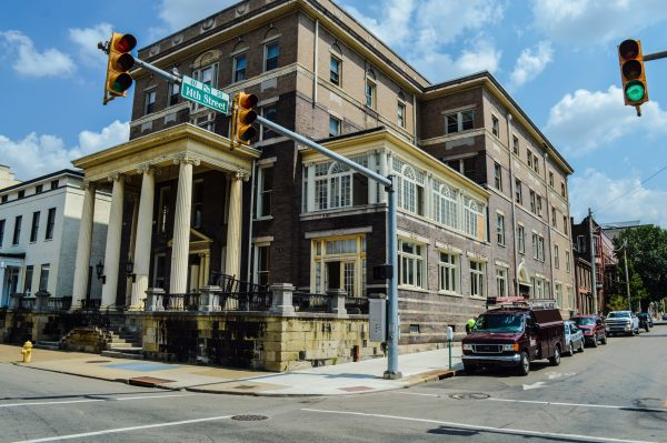The Howell Mansion (the former Fort Henry Club), located on the corner of 14th and Chapline streets, is currently under renovation by McKinley & Associates.