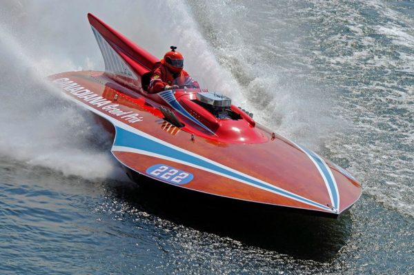 The action is fast and plentiful during the annual Wheeling Vintage Raceboat Regatta.
