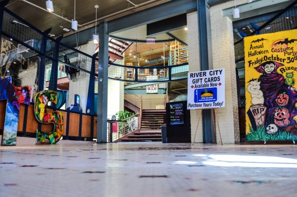 River City Restaurant & Conference Center is located within the Wheeling Artisan Center at the corner of 14th and Main streets in downtown Wheeling.