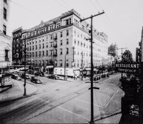 The 12th and Market street intersection was once known as the busiest area for commerce in the entire state, and the city's mob activity was one of the primary reasons.