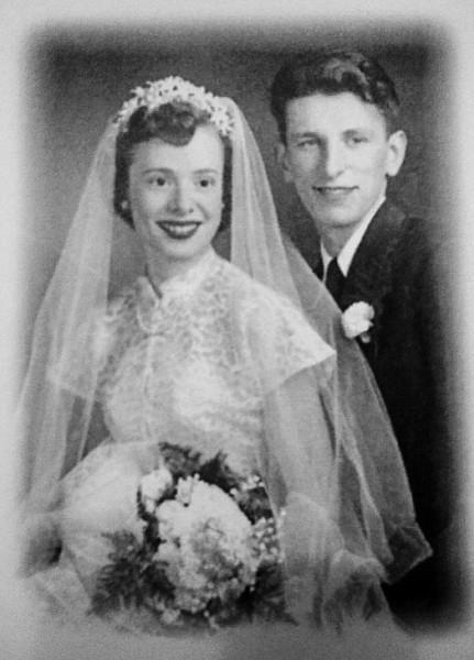 Ed and Marilyn Novotney circa 1952.