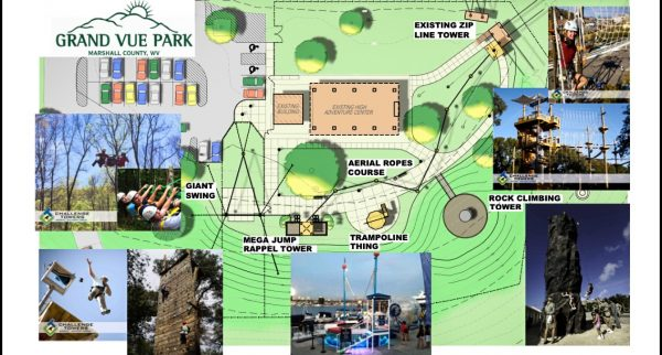 """Nearly $700,000 will be spent on the addition of the new """"high adventure"""" area."""