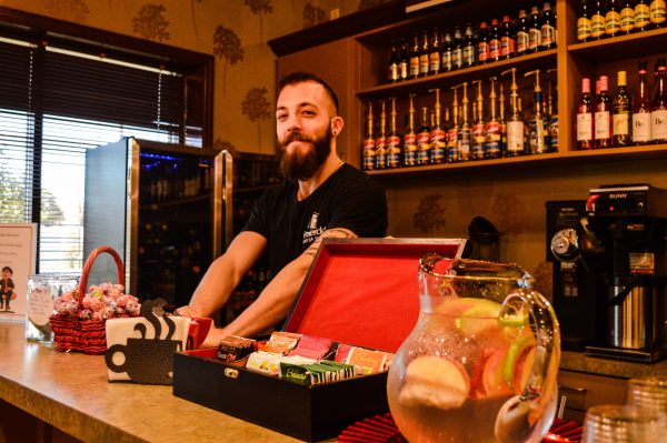 Josh Fried is employed at Frederick's as a barista.