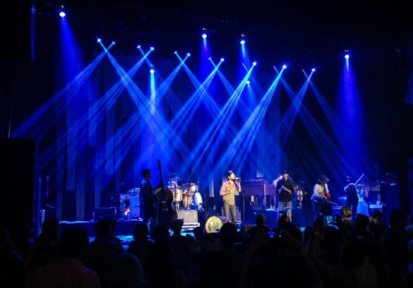 The Capitol Theatre was visited in August by the nationally touring band The Avett Brothers.