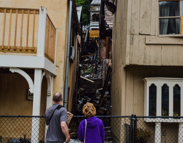 There's much to examine in Harpers Ferry, and the damage caused by a fire in July.