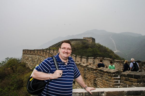 Superintendent Vince Schmidt has visited China twice in the last three years.