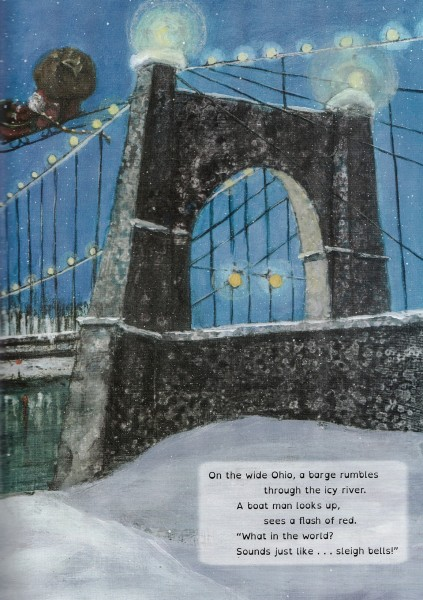 """Many locations around West Virginia are highlighted within """"Mountain Christmas,"""" including the city of Wheeling."""