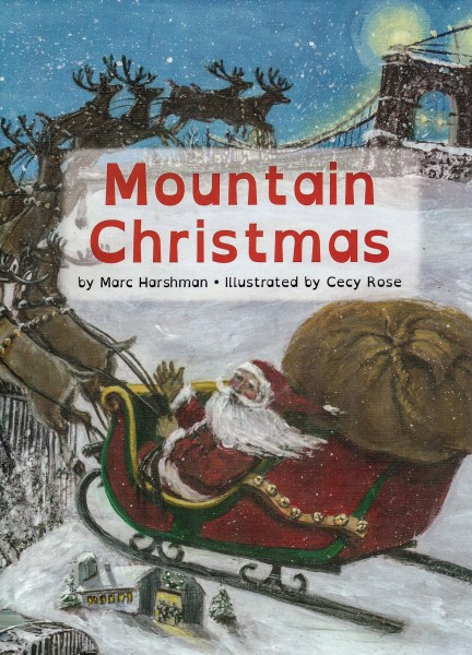 """""""Mountain Christmas"""" is available locally at the Wheeling Artisan Center and Words & Music at Stratford Springs."""