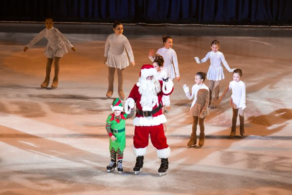 Of course Santa Claus will make an appearance at Wesbanco Arena.