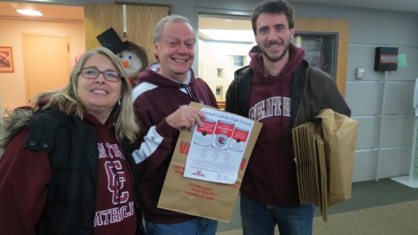 Mrs. Kahle, Mr. Pockl, and Mr. Bender were a few faculty members who assisted the student body almost two weeks ago.