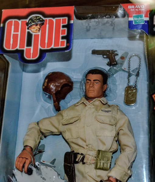 Hasbro's G.I. Joe first appeared on store shelves in 1964.