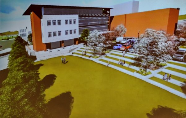 Beyond Marketing presented a video during the gathering Wednesday morning that offered a 3-D look at the new development.