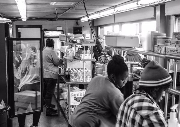 The concession stand sold out of nearly everything during Wheeling Park's victory.