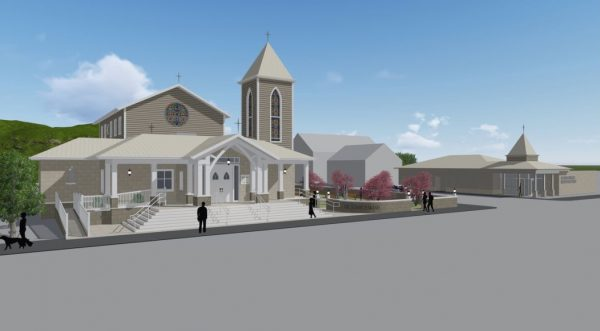 Benwood Police Chief Frank Longwell said the new church will assist in the beautification of Main Street.