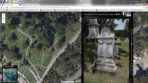 The Mount Wood Cemetery is much larger than many expected when making their initial visit.
